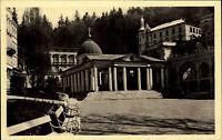 Marienbad Mariánské Lázně Tschechien Česká Böhmen AK ~1930 Kreuzbrunnen Pramen