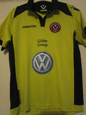 Sheffield United 2011-2012 Away Football Chemise taille junior large / 39588