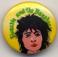 Siouxsie & The Banshees Badge Button