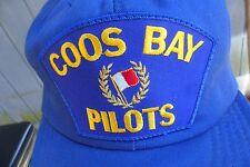 coos bay, Oregon tug boat ? pilots patch snapback hat