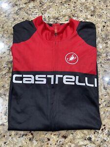 Castelli Italian Jersey Size XXL 2XL Cycling Triathlon New