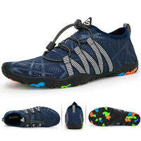 Men's Water Shoes Quick Dry Barefoot Swim Diving Surf Aqua Pool Beach Yoga US 12
