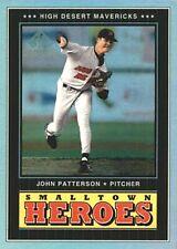 2000 SP Top Prospects Small Town Heroes #S3 John Patterson High Desert Mavericks