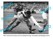 NORM SMITH St GEORGE DRAGONS GREAT LARGE A3 PHOTO