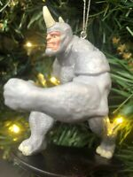 "2020 Rhino Villain Spider-Man Christmas Tree Ornament Spiderman w Horn  4"" New"