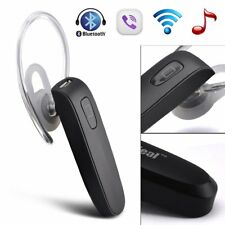 Wireless Bluetooth Headset Handsfree Stereo Music 2 Mic For Cell Phone Universal