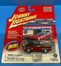 Johnny Lightning Muscle Cars USA 1969 Chevy Camaro Convertible - Red