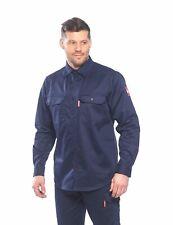 Portwest FR89 Camisa de trabajo de seguridad resistente al fuego en fr Bizflame 88/12 ASTM Nfpa