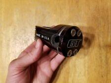 GT Piston Front Load BMX Stem 1 1/8 22.2mm X 50mm Mid School Ano Black USA