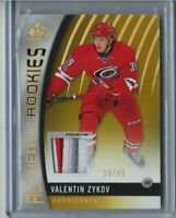 17/18 SP Game-Used Authentic Rookie Premium Patch Valentin Zykov (18/49)