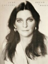 RARE ***  JUDY COLLINS - BREAD & ROSES Songbook / Sheet Music - 1977  !!!