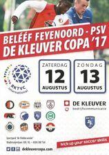 DE KLEUVER COPA 2017 incl WEST HAM UNITED KOBENHAVN ALTINORDU FEYENOORD PSV  AZ