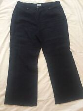 Marks and Spencer Loose Fit Mid Rise 30L Trousers for Women