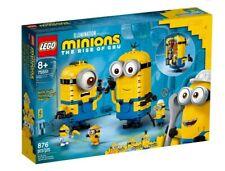 Lego Brick-built Minions and their Lair (75551)