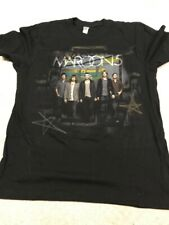 Maroon 5 T Shirt Size Medium Tour Dates on Back in Perfect Shape
