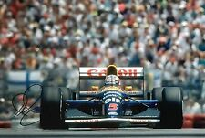 Nigel Mansell Hand Signed Canon Williams Renault 18x12 Photo F1 4.