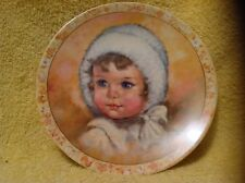 Snow Puff by Charlotte Becker Plate numbered #988 year 1983 COA