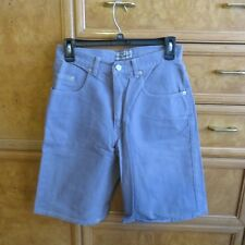 women's Vintage GUESS Georges Marciano jean shorts sz 28 80's Triangle logo USA