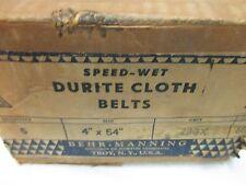 "4"" X 54"" DURITE CLOTH BELTS 280X GRIT SPEED-WET 605 (LL2051)"