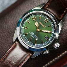 Seiko SARB017 Mechanical Alpinist Automatic Men Leather Watch 001 Ship Brand New