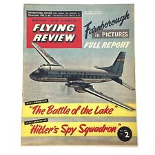 Flying Review Magazine, Nov 1960 Royal Air Force, Hitler's Spy Squadron, P-51