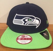 Seattle Seahawks Official NFL New Era Big City Mens Snapback 9FIFTY Cap Hat