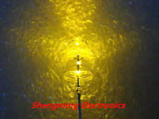100pcs 5mm Round Yellow Led Light Water Clear