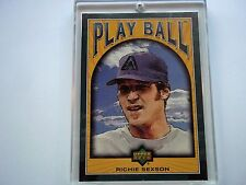 Richie Sexson Upper Deck Play Ball #48 Green Serial #13/15