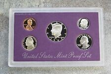 1992 United States US Mint 5pc Clad Coin Proof Set