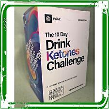 Pruvit Ketones Challenge- 10 Day Drink Challenge 20 Sachets 10 morn/10 evenings