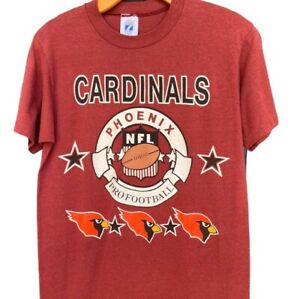 Vintage Arizona Phoenix Cardinals NFL Shirt Logo 7 Size Medium Small
