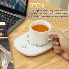 USB  Mug Warmer Coffee Tea Milk Drink Heater Pad 16W 55℃ Thermostatic   F