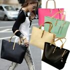 Women PU Leather Tote Shoulder Bag Hobo Handbags Messenger bag Purse Lot NG