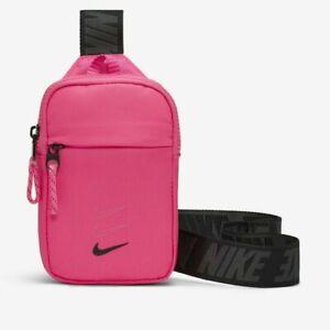 Nike Crossbody Waist Bag Pack Belt Festival Pouch Pink
