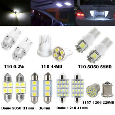 14PCS/Lots LED Lights Interior Package 1157 T10 31 36mm Map Dome License Plate