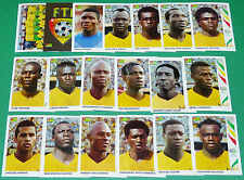 PANINI FOOTBALL GERMANY 2006 TOGO WM COMPLET FIFA WORLD CUP