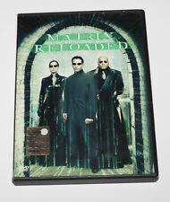 2dvd MATRIX RELOADED the wachowski brothers keanu reeves - film di fantascienza