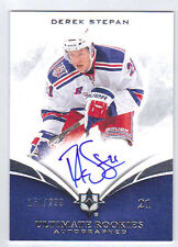 10-11 Ultimate Derek Stepan Auto Rookie Card RC #137 Mint Rare /299