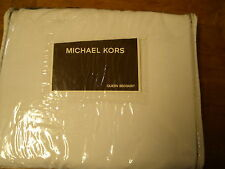 Michael Kors Queen Bedskirt Denpasar Black 100% Cotton New