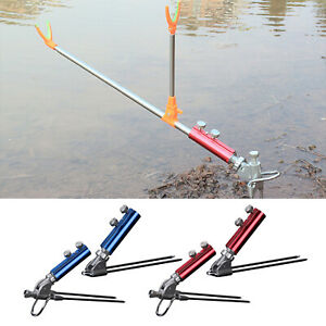 Ground Fishing Rod Holder Stand Anti-Scratch Anti-rust Bracket Tackles Support