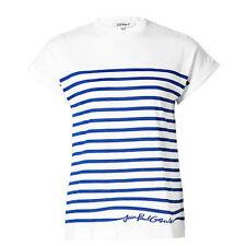 Cap Sleeve Basic Tee Machine Washable Striped T-Shirts for Women