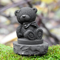 An unusual gift from Russia a bear made of rare stone Shungite Tolvu only real