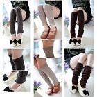 Legwarmers Warm Jersey Dance Lady Legs Rib Girl Female