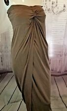 Cythnia Rowley M Med strapless cocktail party dress wedding business beach