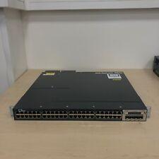 CISCO CATALYST 3560x- WS-C3560X-48PF-L 48 Port Gigabit PoE L3 Switch 1100W PSU's