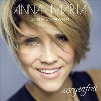 ANNA-MARIA ZIMMERMANN - SORGENFREI   CD NEW