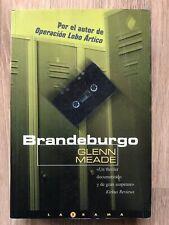 GLENN MEADE libro Brandenburgo Ken Follet Le Carré Forsyth Tom Clancy