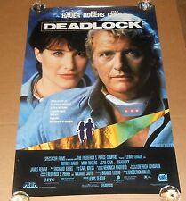 Deadlock Movie Poster Original Promo 38x25.5 Mimi Rogers