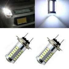 2 Pin H7 5630 33SMD LED 12V Car Fog Light Headlight Lamp Bulb White