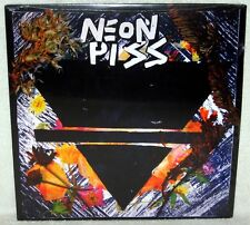 NEON PISS S/T LP Melodic Punk Rock BLACK VINYL The Wipers OBSERVERS Red Dons NEW